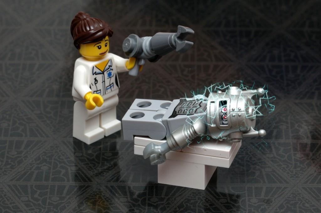 robot i lekarz